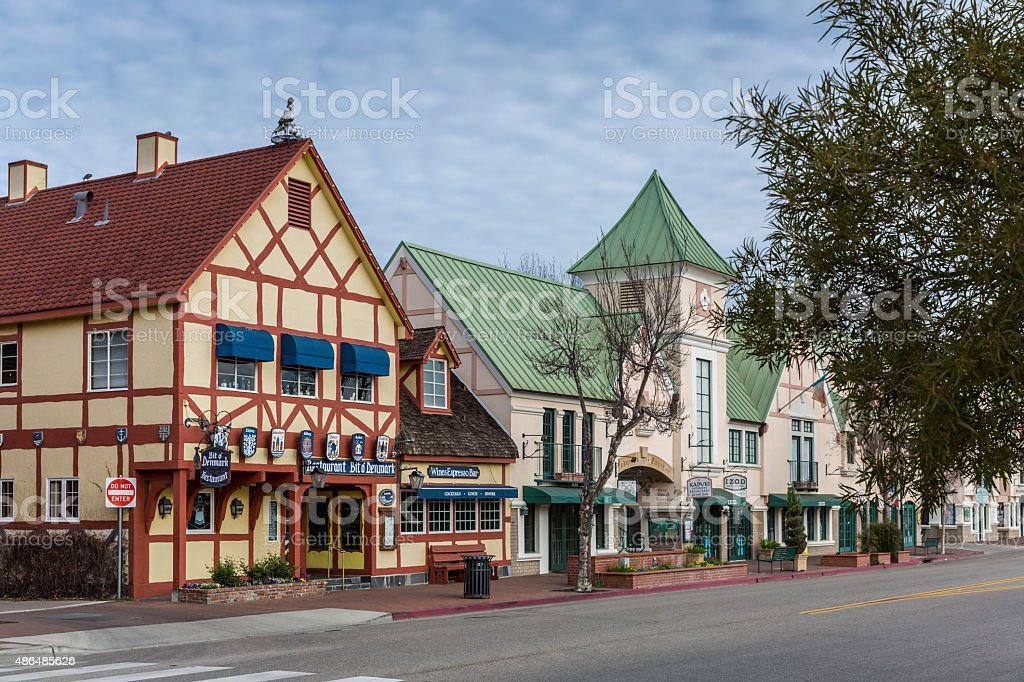 City of Solvang, California stock photo