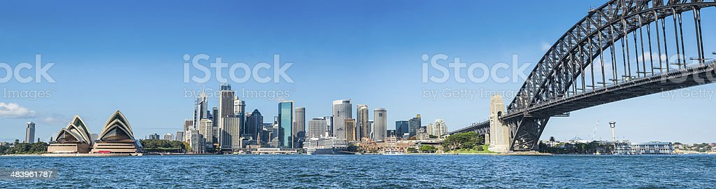 City of Sydney panorama stock photo