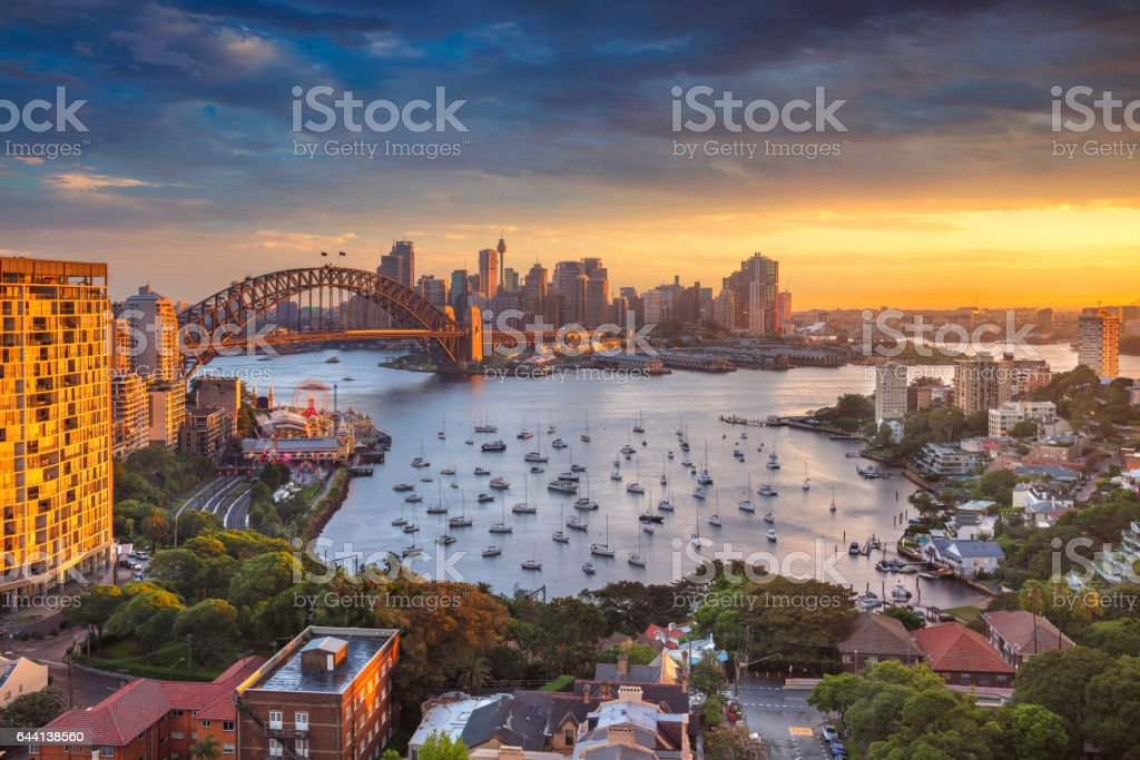 City of Sydney. stock photo