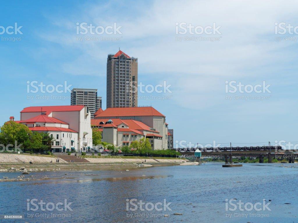 City of Takarazuka stock photo