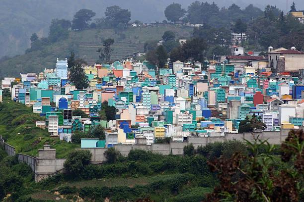 city of the dead, guatemala - guatemala stadt stock-fotos und bilder