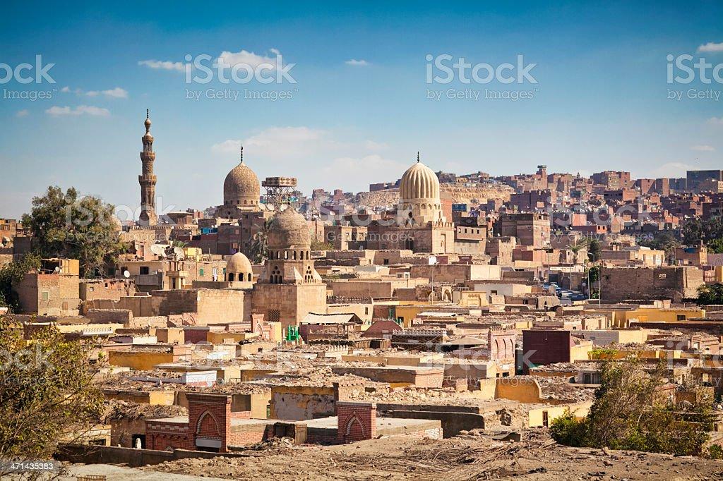 City of the Dead ( Qarafa, el-Arafa / Cairo ) stock photo