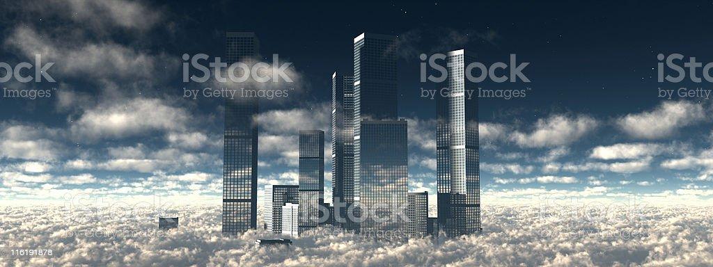 Città del futuro - foto stock