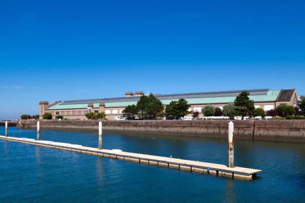 City of the sea in Cherbourg-en-Cotentin stock photo