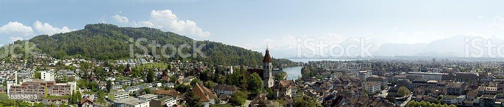 City of Thun, Switzerland royalty-free stock photo