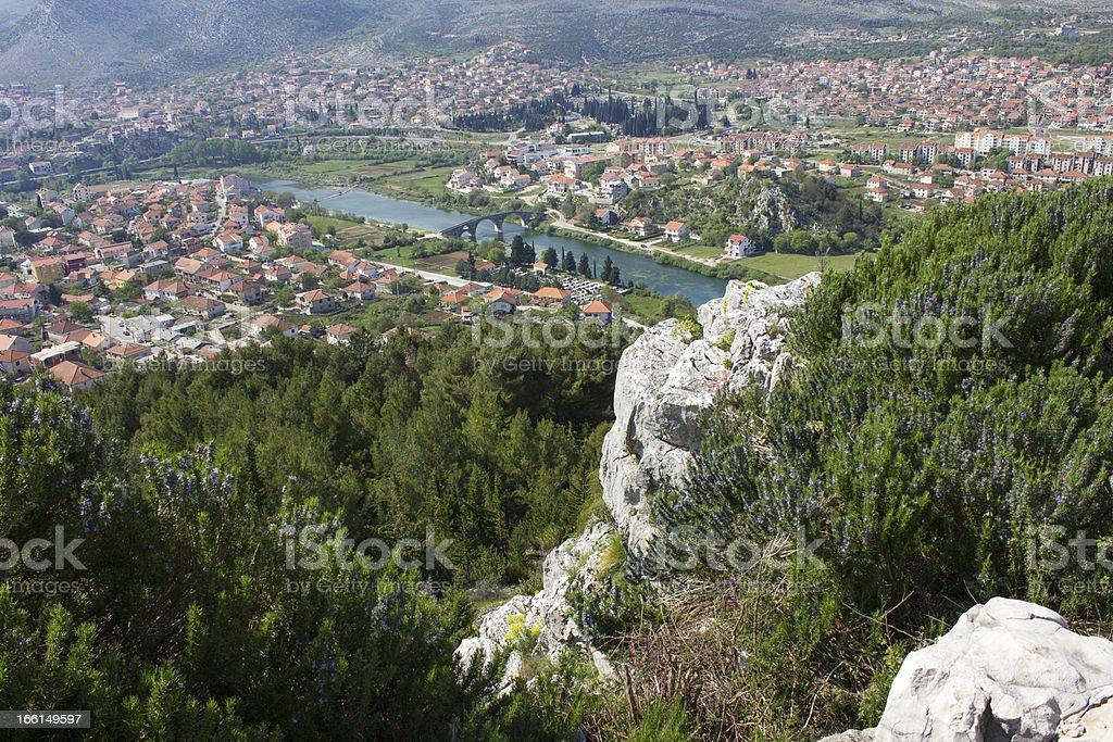 City of Trebinje royalty-free stock photo