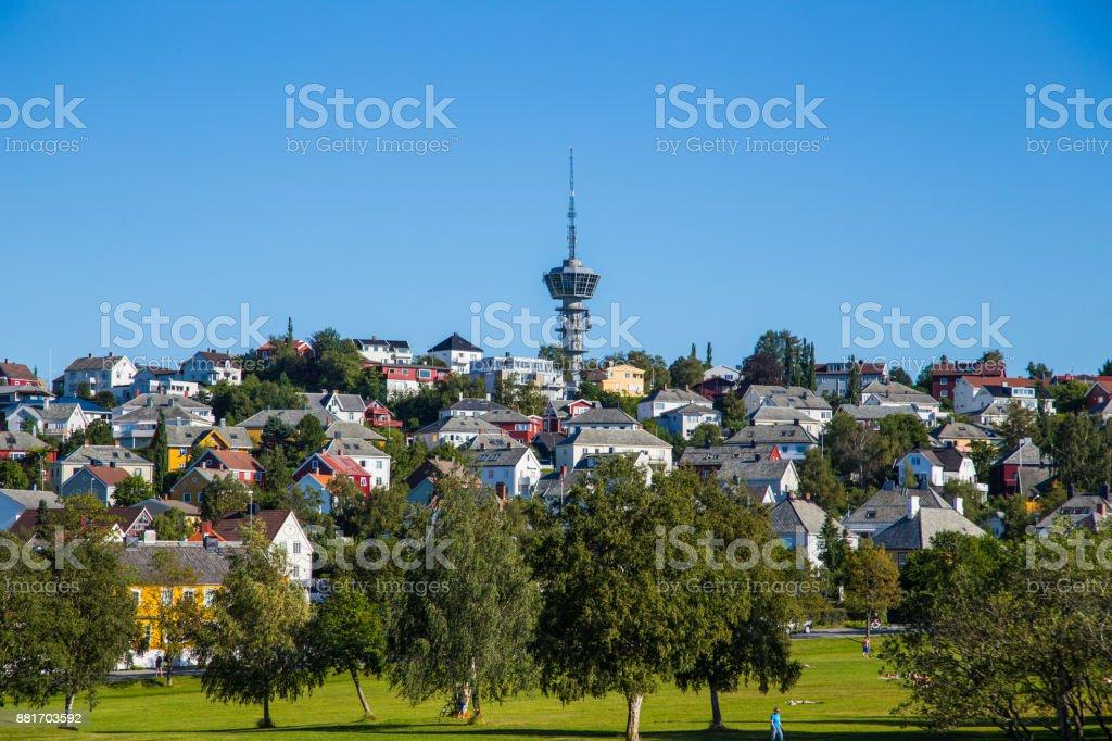 Stadt von Trondheim – Foto