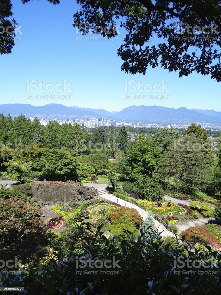 City of Vancouver B.C. stock photo