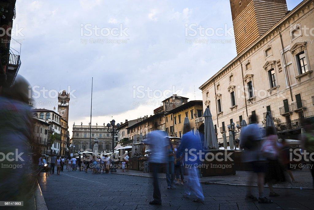 City of Verona royalty-free stock photo