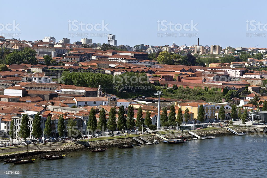 City of Vila Nova de Gaia, Portugal stock photo