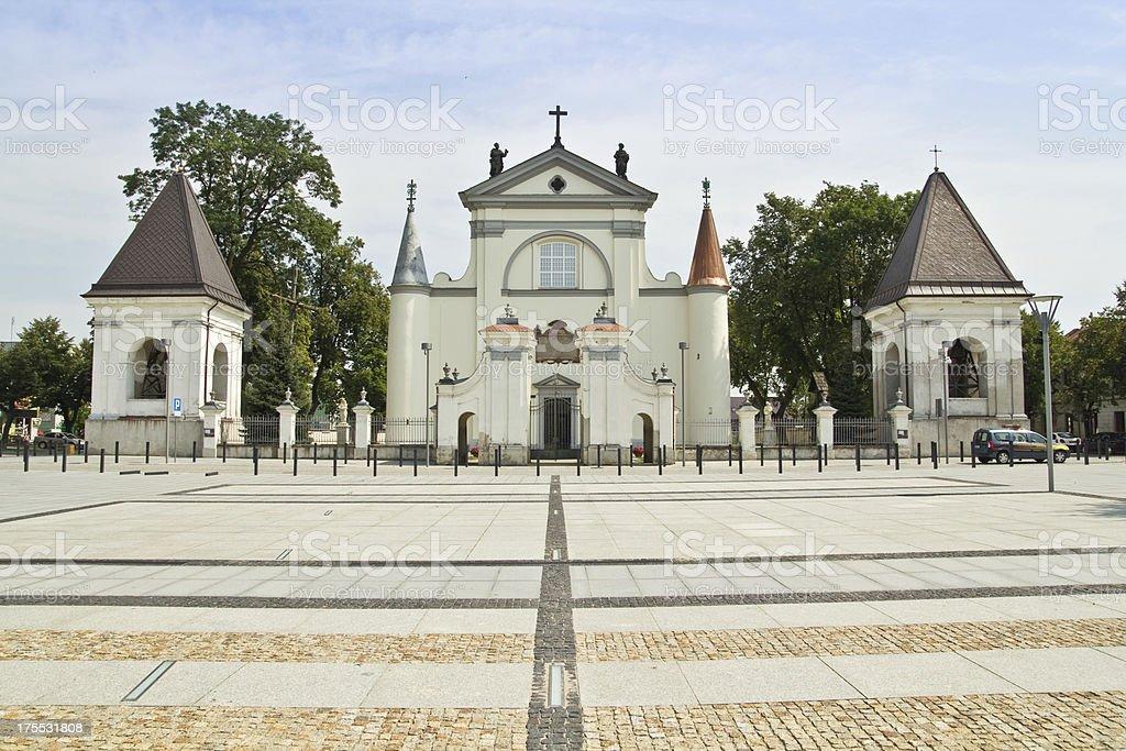 City of Wegrow, Poland royalty-free stock photo