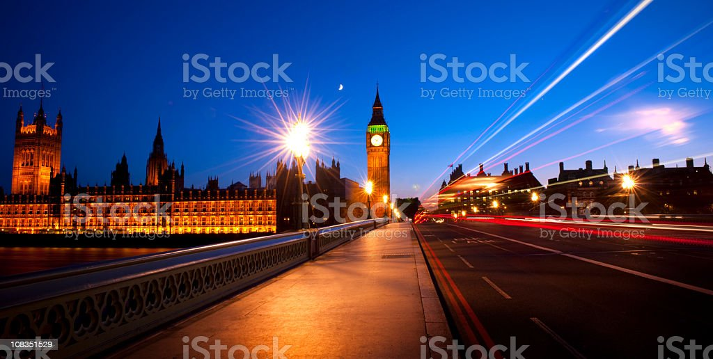 City of Westminster royalty-free stock photo