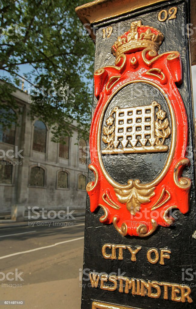 City di Westminster foto stock royalty-free