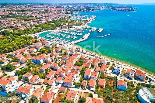istock City of Zadar waterfront aerial summer view, Dalmatia region of Croatia 1040625982