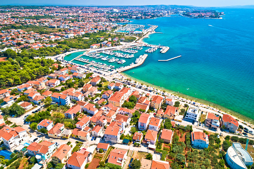 istock City of Zadar waterfront aerial summer view, Dalmatia region of Croatia 1040625982
