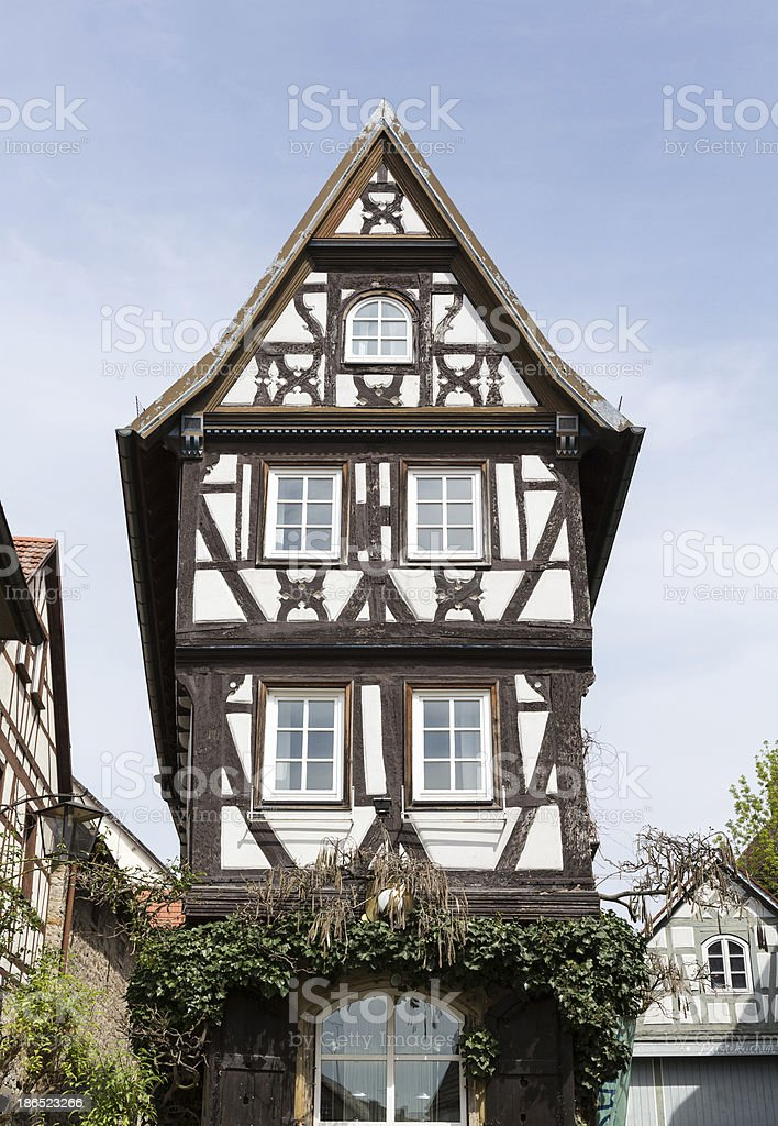City or old town of Bad Wimpfen Germany royalty-free stock photo