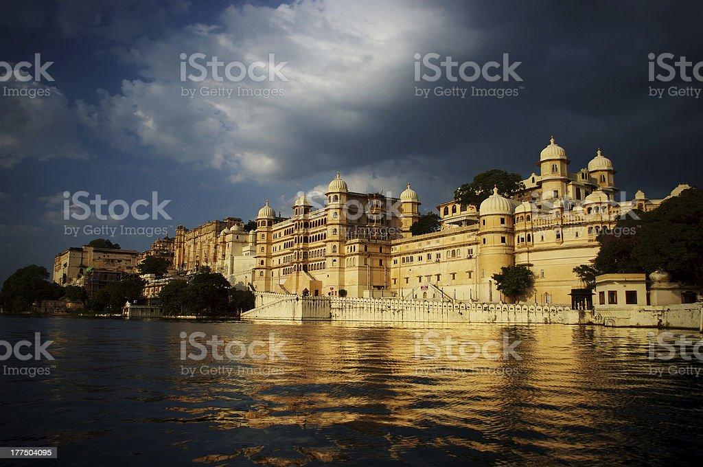 City palace of Udaipur stock photo