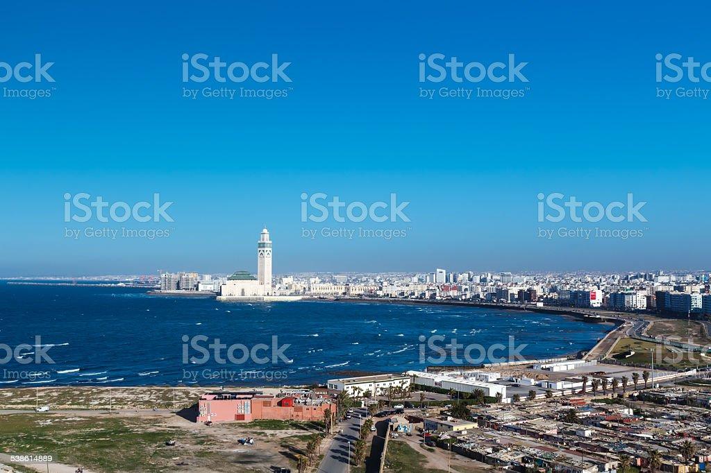 City panorama. Casablanca, stock photo