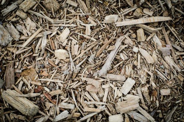 stadtpark mulch - gummimulch stock-fotos und bilder