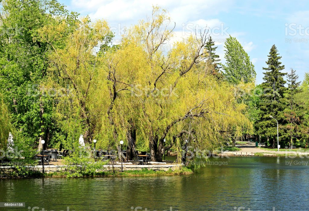 City Park der Kultur und Erholung. Lizenzfreies stock-foto