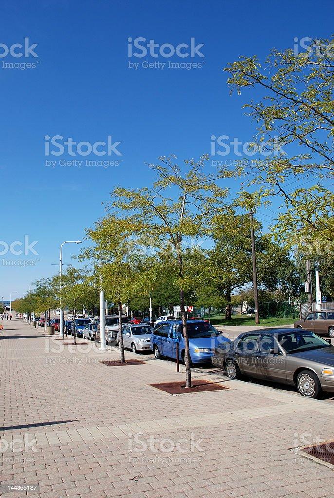 City Parking royalty-free stock photo