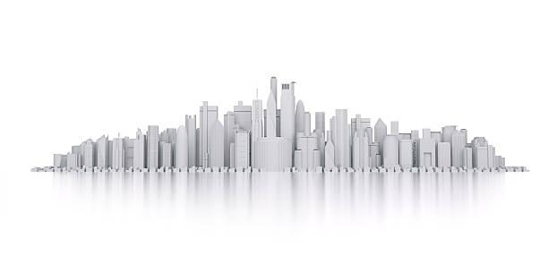 市の - 模型 ストックフォトと画像