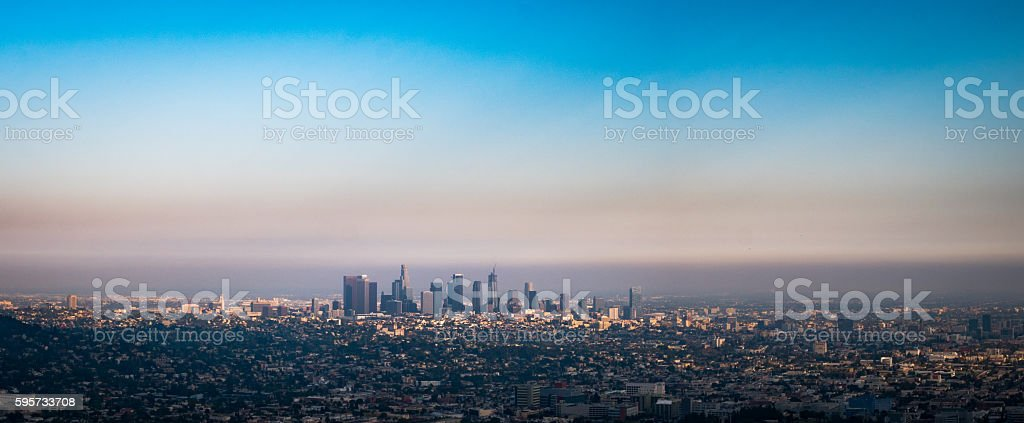 L.A. City stock photo