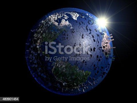 istock City Planet 483901454