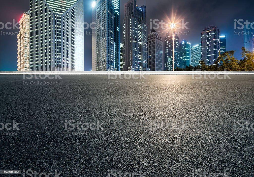city plaza stock photo