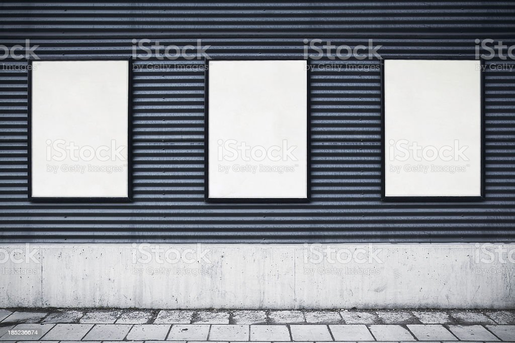 City posters royalty-free stock photo