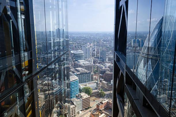 City Reflektionen, architektonischen abstrakt, London – Foto