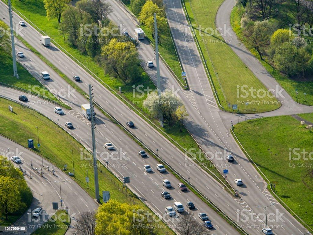 City road stock photo