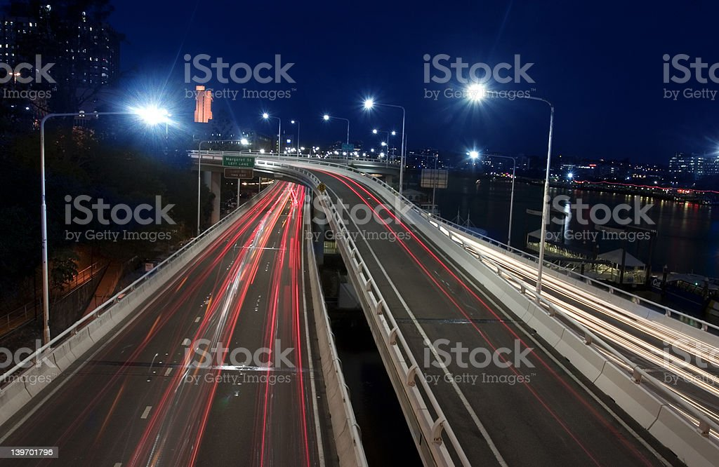 City Road royalty-free stock photo