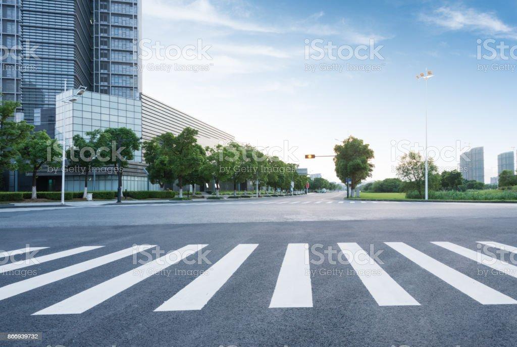 city road - Lizenzfrei Architektur Stock-Foto