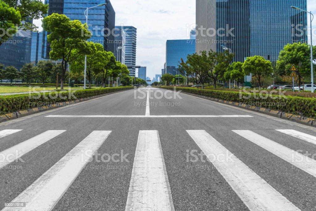 City road royalty-free stock photo