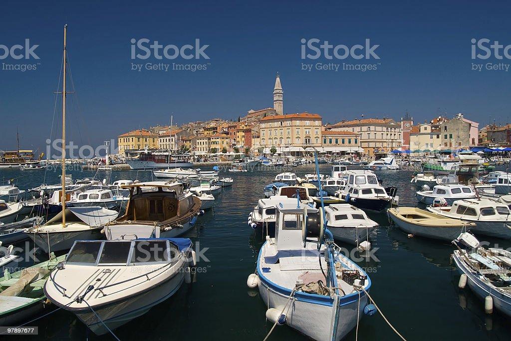 City Rovinj, Croatia royalty-free stock photo