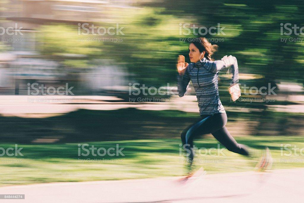Stadt Running – Foto