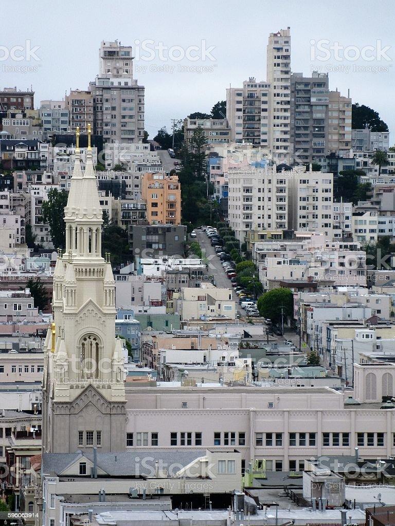 City Scape - San Francisco royalty-free stock photo