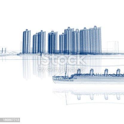 184405668 istock photo City Sketch 186867213