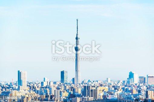 1184122904 istock photo city skyline aerial view of oji in japan 1156432318