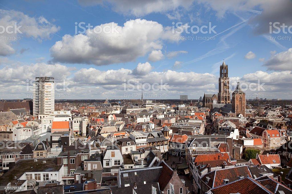 City skyline, Holland (XXXL) royalty-free stock photo