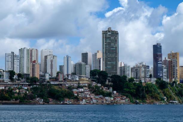 City Skyline von Salvador de Bahia. Brazilien – Foto