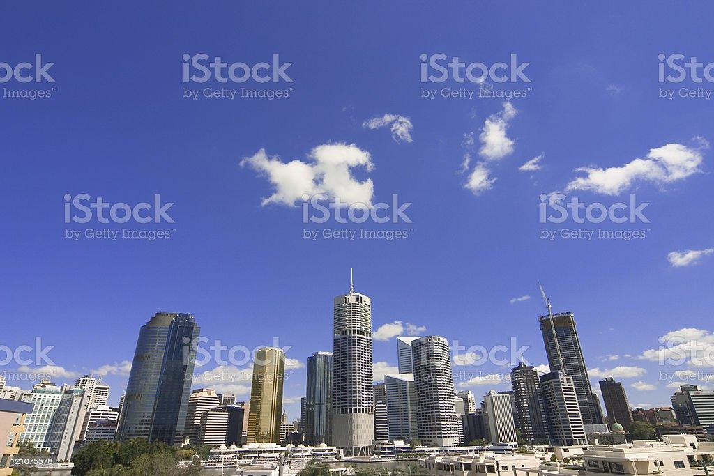 City Skyline stock photo