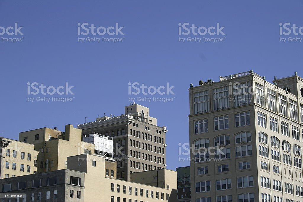 City Skyline royalty-free stock photo