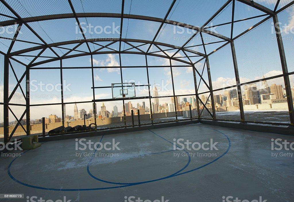 Die Skyline der Stadt Lizenzfreies stock-foto