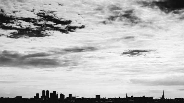 City skyline - Tallinn, Estonia stock photo