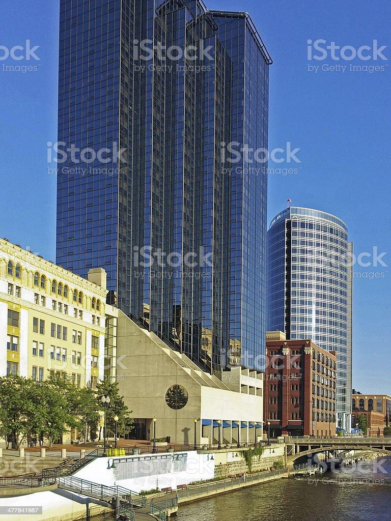 City Skyscrapers royalty-free stock photo