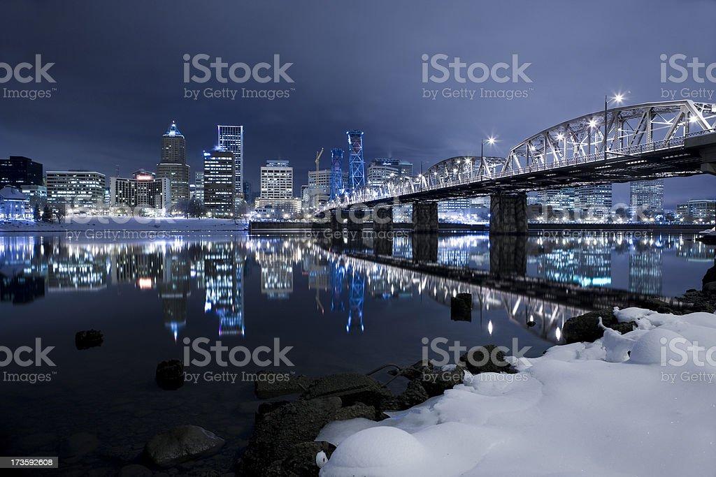 City Snow XXL royalty-free stock photo