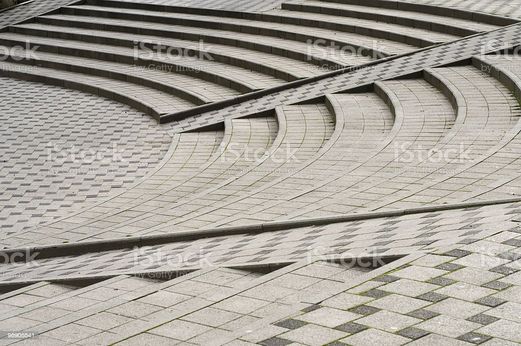 City square ladder. royalty-free stock photo