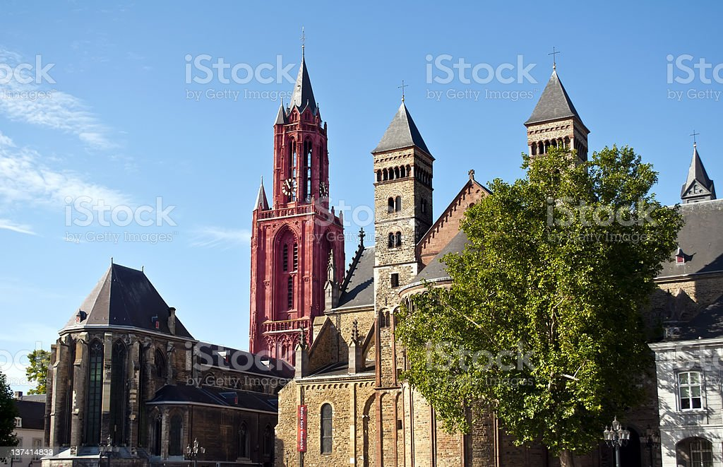 City square Maastricht royalty-free stock photo